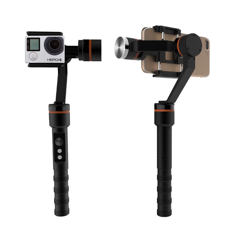 三轴人脸识别跟踪手持云台 色克龙 摄像机、手机 专业器材 店面三包