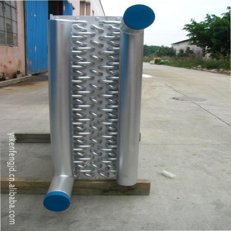 加工空气散热器铜制蒸汽散热器冷却盘盘 管式换热器 YKF 蓄热式换热器