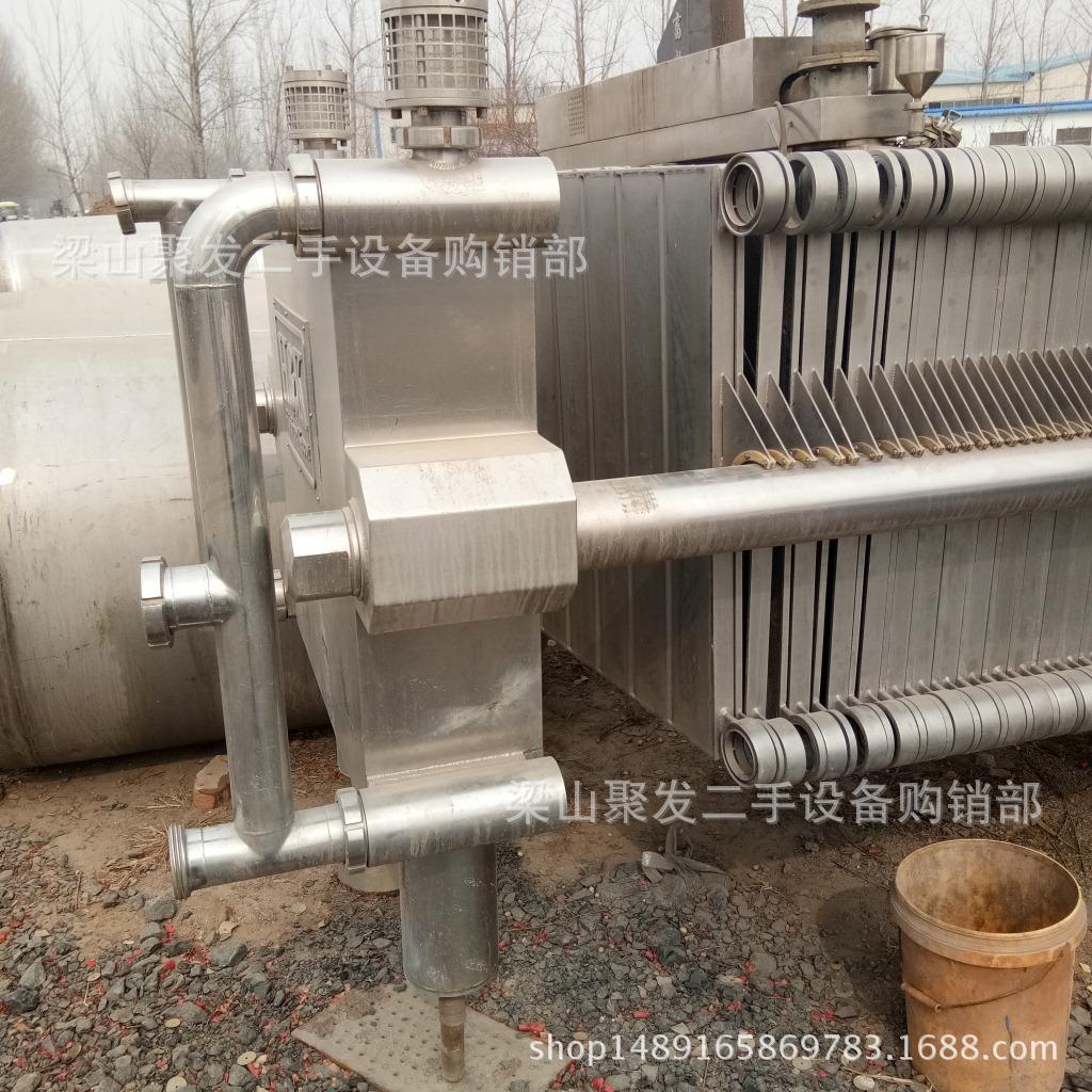 聚发常年供应二手压滤设备京津板框式自动拉板压滤机