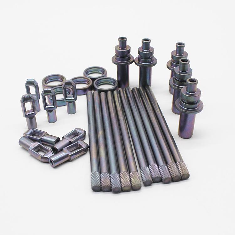 电镀加工三价低档环保彩锌镍合金 镀锌加工