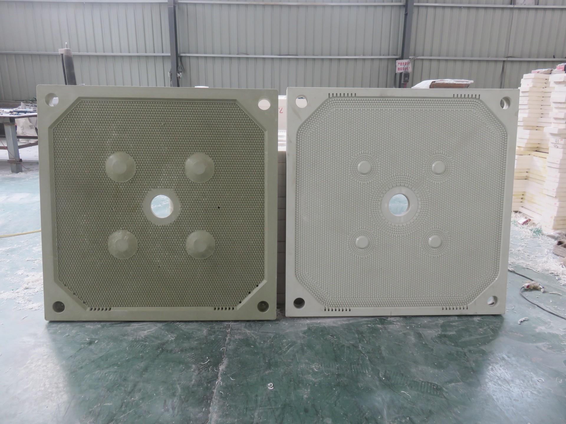 禹州天平1500型压滤机厢式聚丙烯隔膜滤板 聚丙烯