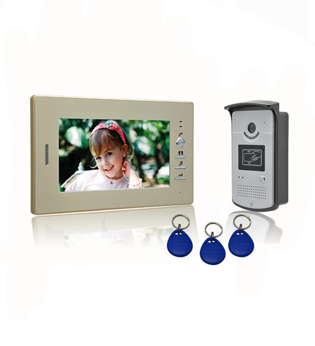 可视电话/厂家直销/红外夜视/刷卡开锁 VIGtech CMOS/CCD可选