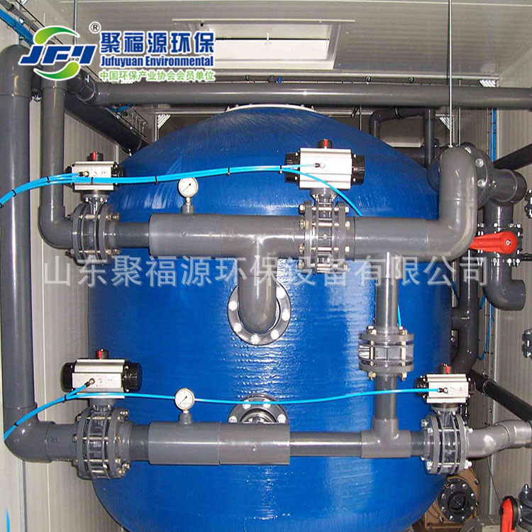 聚福源厂家供给海水淡化零碎安装 JFY