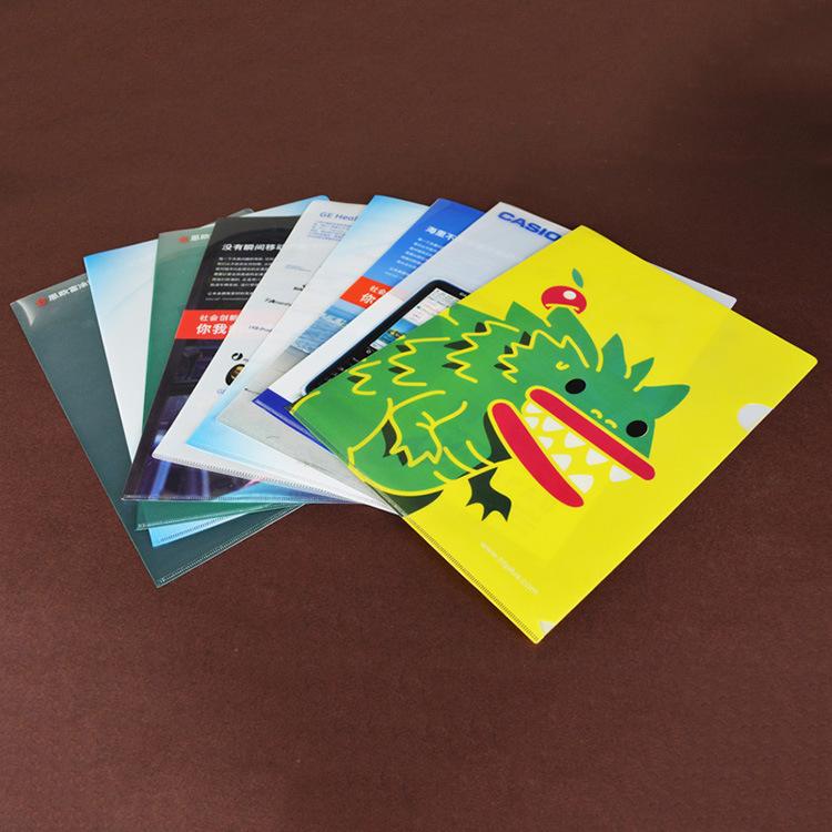 加工定制创意教学PP塑料文件夹零售