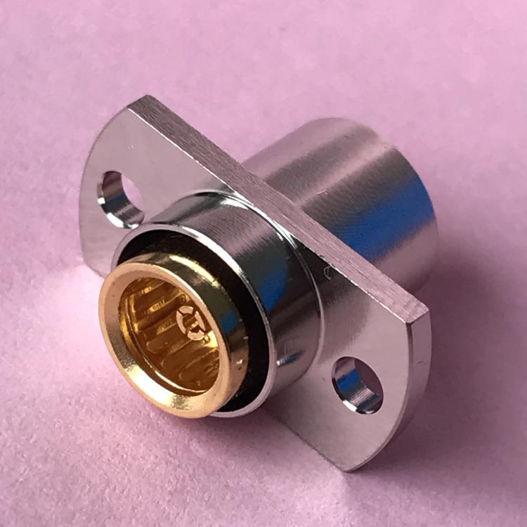 厂家直销BMA-KFB2接086线缆BMA型高频射频同轴连接器 科恩特 机加工