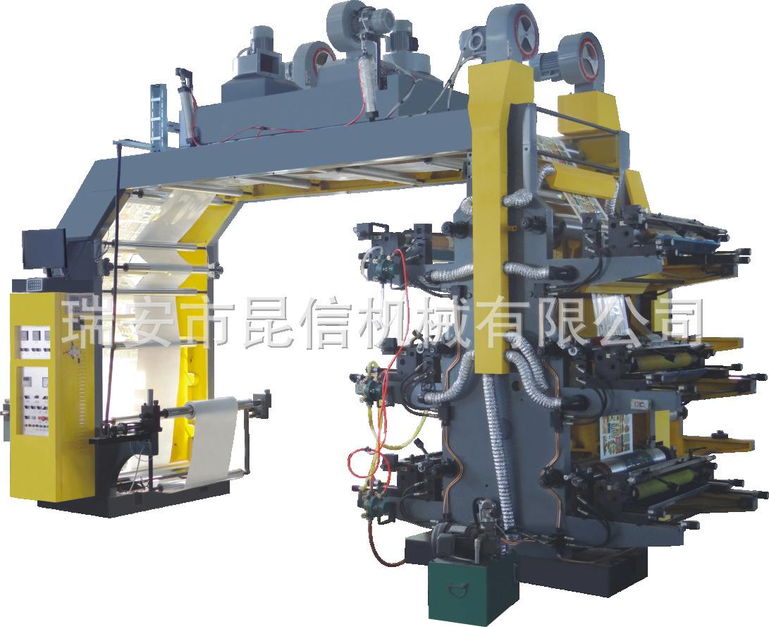 YT2600双色600柔性凸版印刷机 层叠式 半自动