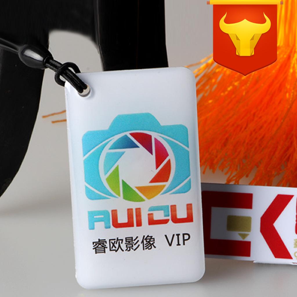 水晶滴胶卡通明非标IC滴胶卡ID芯片滴胶卡免模具厂家直销物美价廉