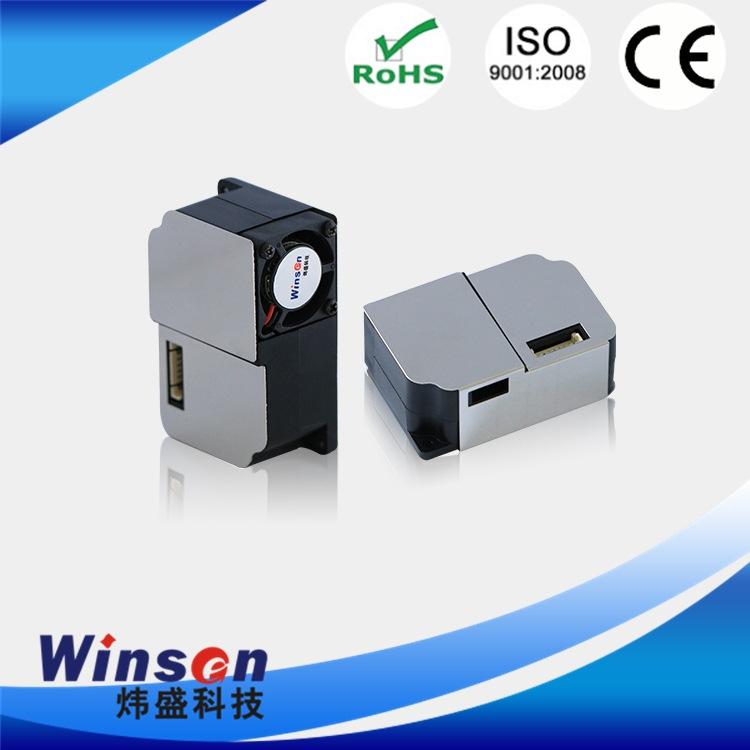 激光粉尘传感器模组 winsen 激光模块 光泵式 反射型外光路 光敏器件型
