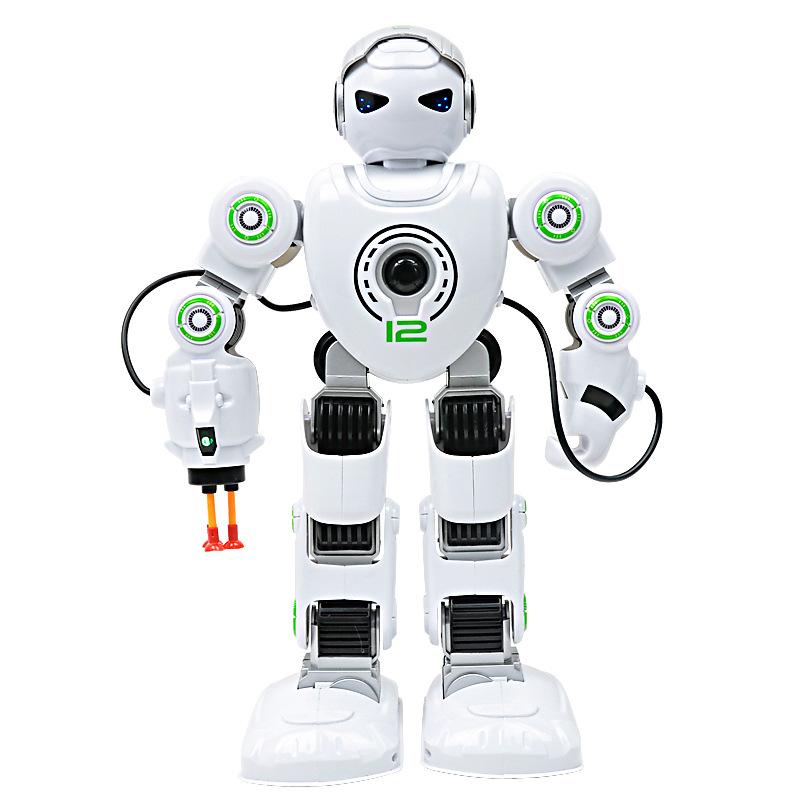 儿童早教智能机器人电动玩具 塑料/塑胶 闪光,音乐/发声 海阳之星 机器人