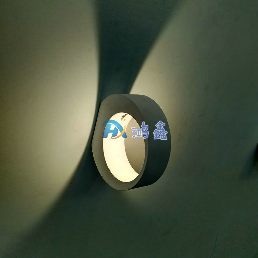 特色壁灯LED防潮灯椭圆卧室灯书房过道咖啡厅酒店室内创意批发5W