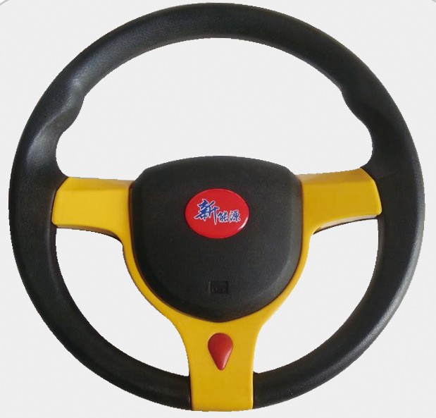 汽车改装方向盘 仿赛车方向盘 通用PU方向盘个性方向盘定制转向盘