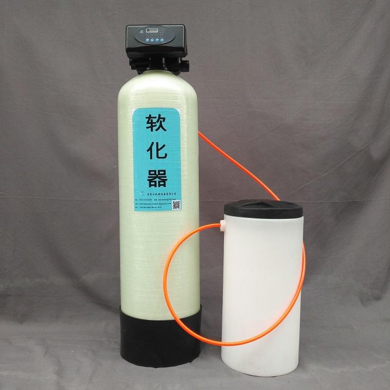 1吨每小时家用软水机 全自动 玻璃钢罐