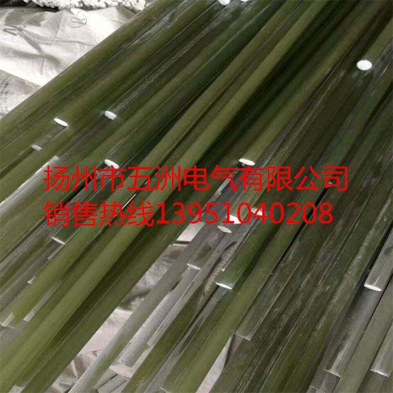 厂家直销复合绝缘子芯棒 玻璃纤维 水绿色