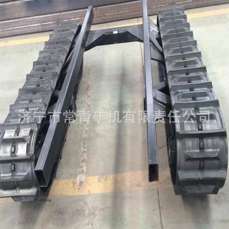 底盘行走装置 工程机械挖掘机配件 钢制履带底盘