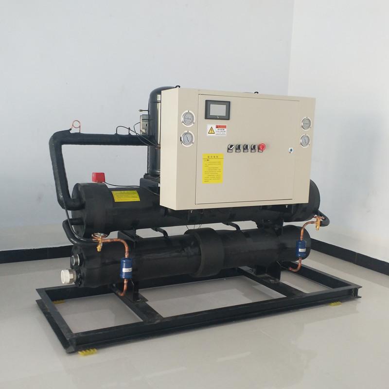 厂家直销环保节能10kw浴池宾馆热水供暖中央空调机组水源热泵