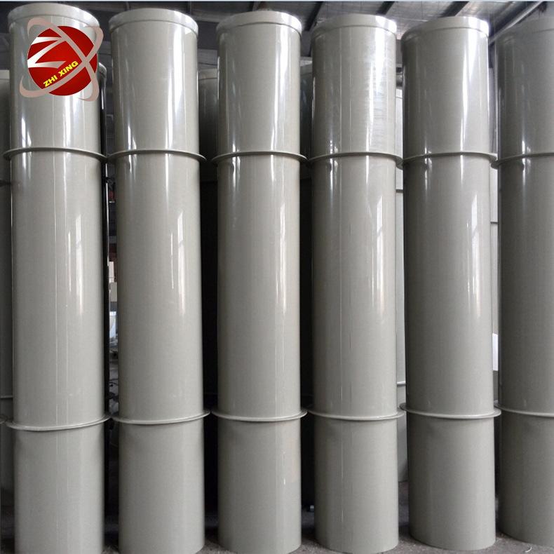 直径110mm成型通风管道 FRP/PP/PVC 米黄色