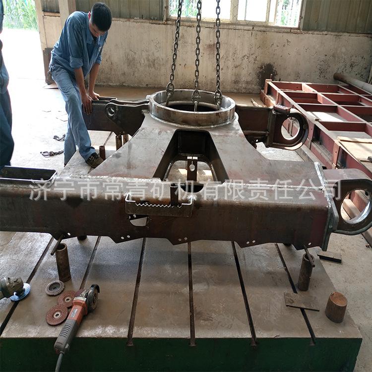 下车架 履带底盘 济宁厂家出售四轮一带 引导轮 底盘件