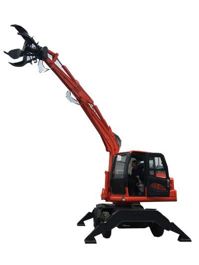 青州起扬机械专业生产废铁厂抓铁机 抓铁机 挖掘机