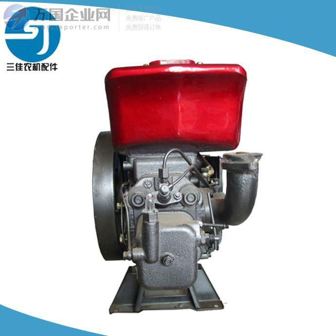 常柴原厂15马力ZS1100单缸柴油 电启动