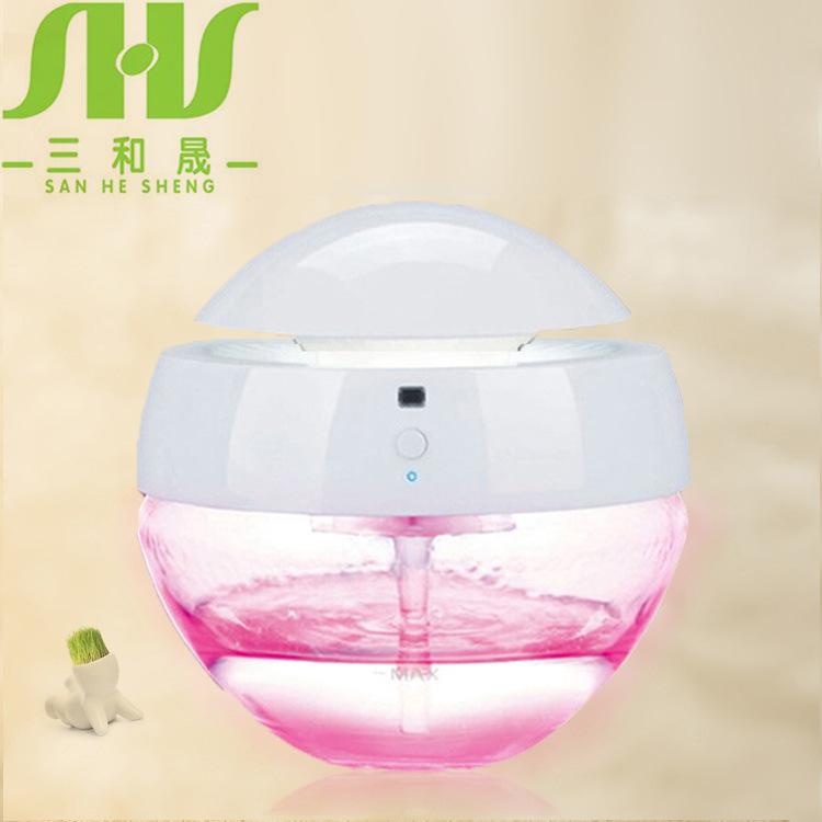 新款小家电水洗空气污染器清爽机 空气净化器 除烟除尘