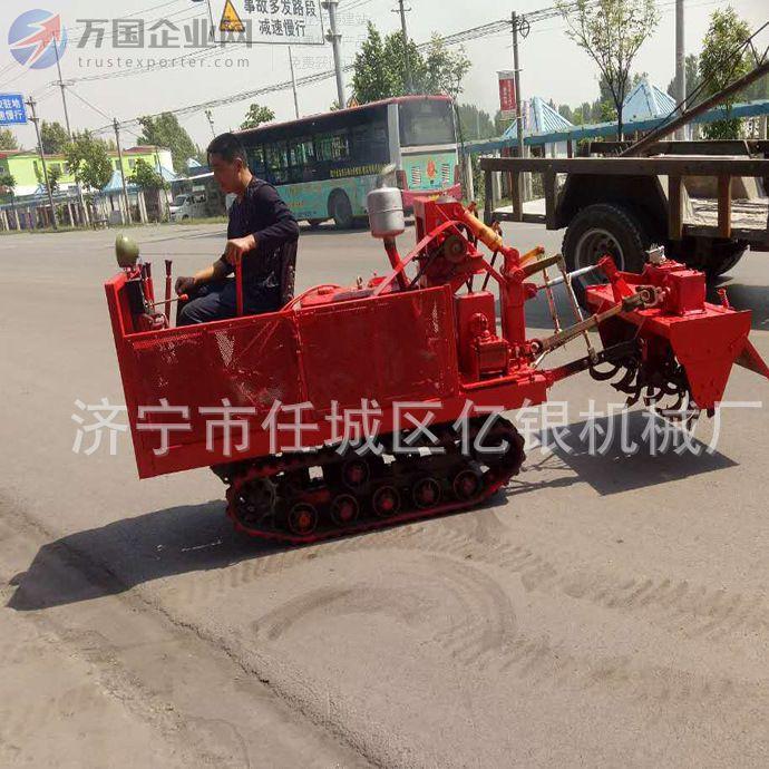 履带式旋耕机小型开沟机 农用履带式拖拉机