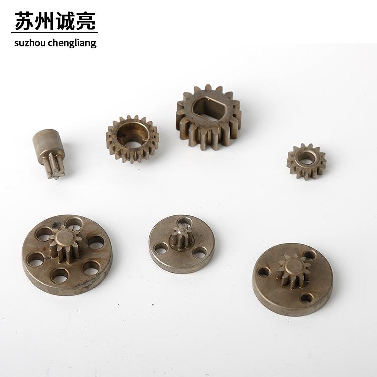 精细不锈钢粉末冶金齿片定制加工 粉末冶金钢铜 粉末退火