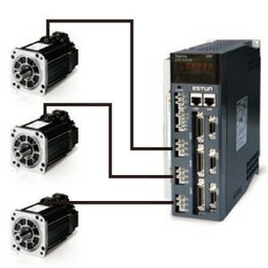 注塑机冲压机械手自动化设备用高精度400W伺服电机一拖二/一拖三 埃斯顿
