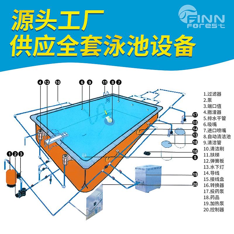 供应全套泳池水处理设备 泳池全套