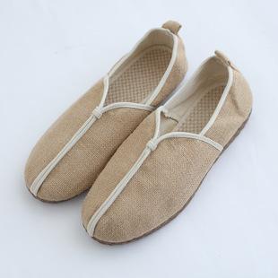 怀旧文艺圆头平底布鞋男支持加工定制 吸汗,除臭,防滑,轻便