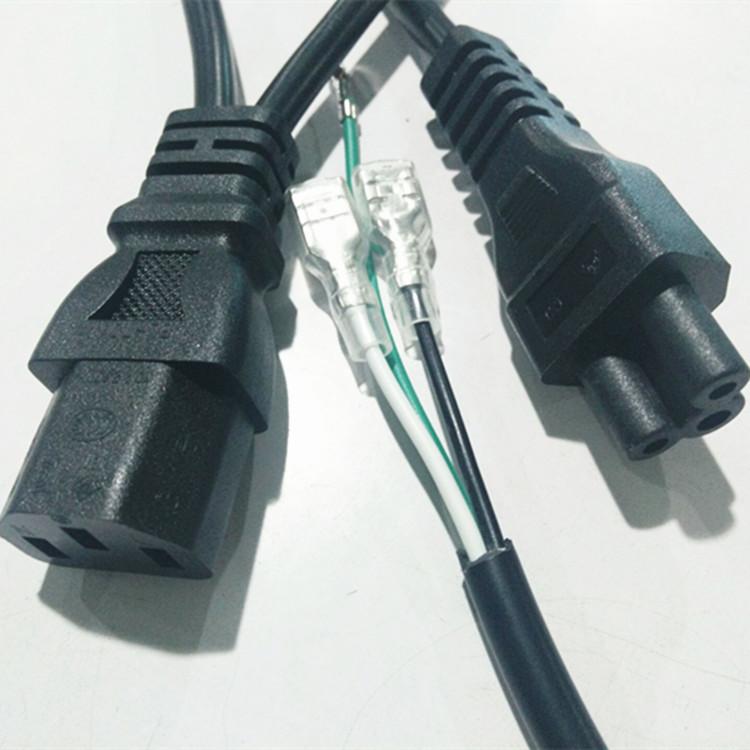 梅花尾电源线 电源线 电动工具和工业用电设备 pvc