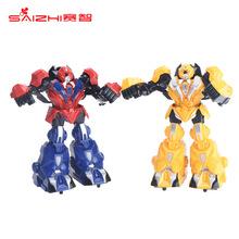 铁甲钢拳格斗对战亲子对打感应双人拳击智能遥控机器人趣味玩具 SAMEWIN