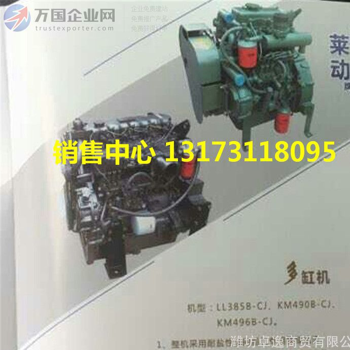 多缸船用柴油机KM496B-CJ175 四冲程 船舶机械