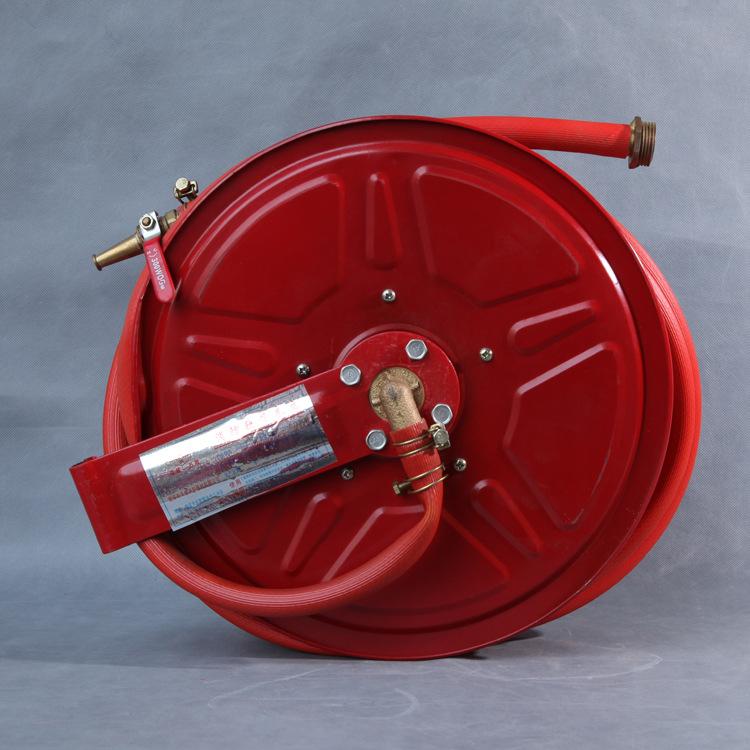 消防软管卷盘优质超薄型软管卷盘消防自救式软管卷盘 anzhiyuan 消防软管