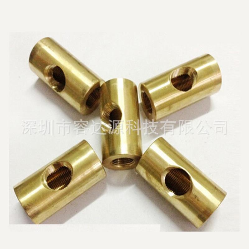 自动数控车床加工 铜件套类精密零件来图加工 数码通讯治具产品