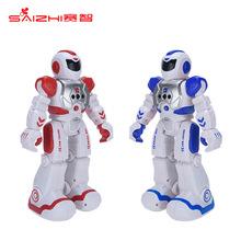 机械战警智能电动遥控机器人跳舞唱歌编程充电男孩儿童玩具礼物 机器人