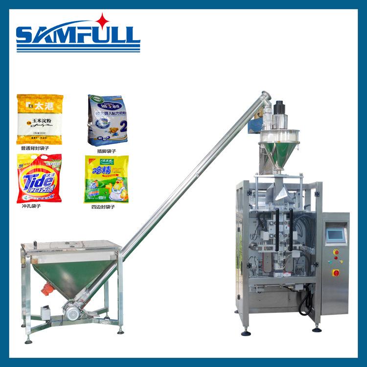 厂家直销螺杆式淀粉包装设备全自动味精包装机高速中药粉包装机
