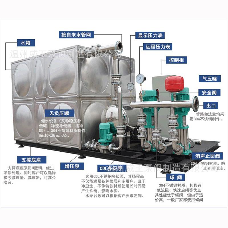 供水设备高区供水设备变频供水二次供水设备恒压无负压供水设备