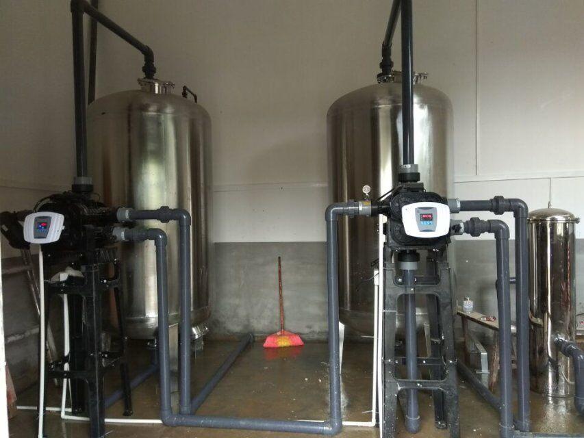 20吨/H自动304不锈钢净水设备消毒杀菌水处理净化设备