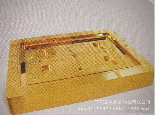 手术刀具镀钛加工外表解决镀钛加工