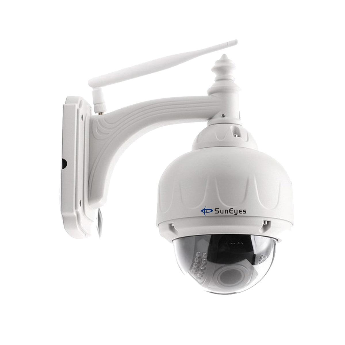 无线变焦网络监控摄像机室外半球机云台自动聚焦 suneyes 网络摄像机