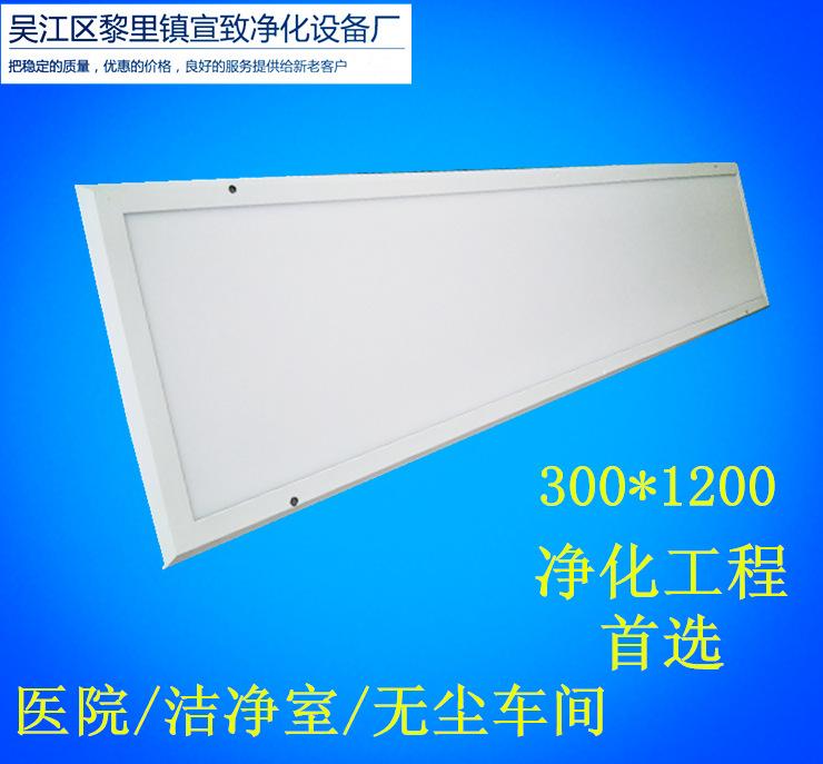 300x1200无尘车间工程公用LED干净灯 宣致净化