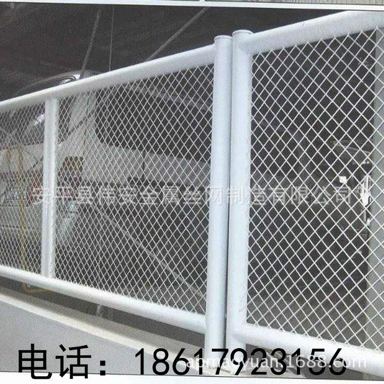 河北安平伟安公司消费桃型柱护栏 市政园林防护网 防护网