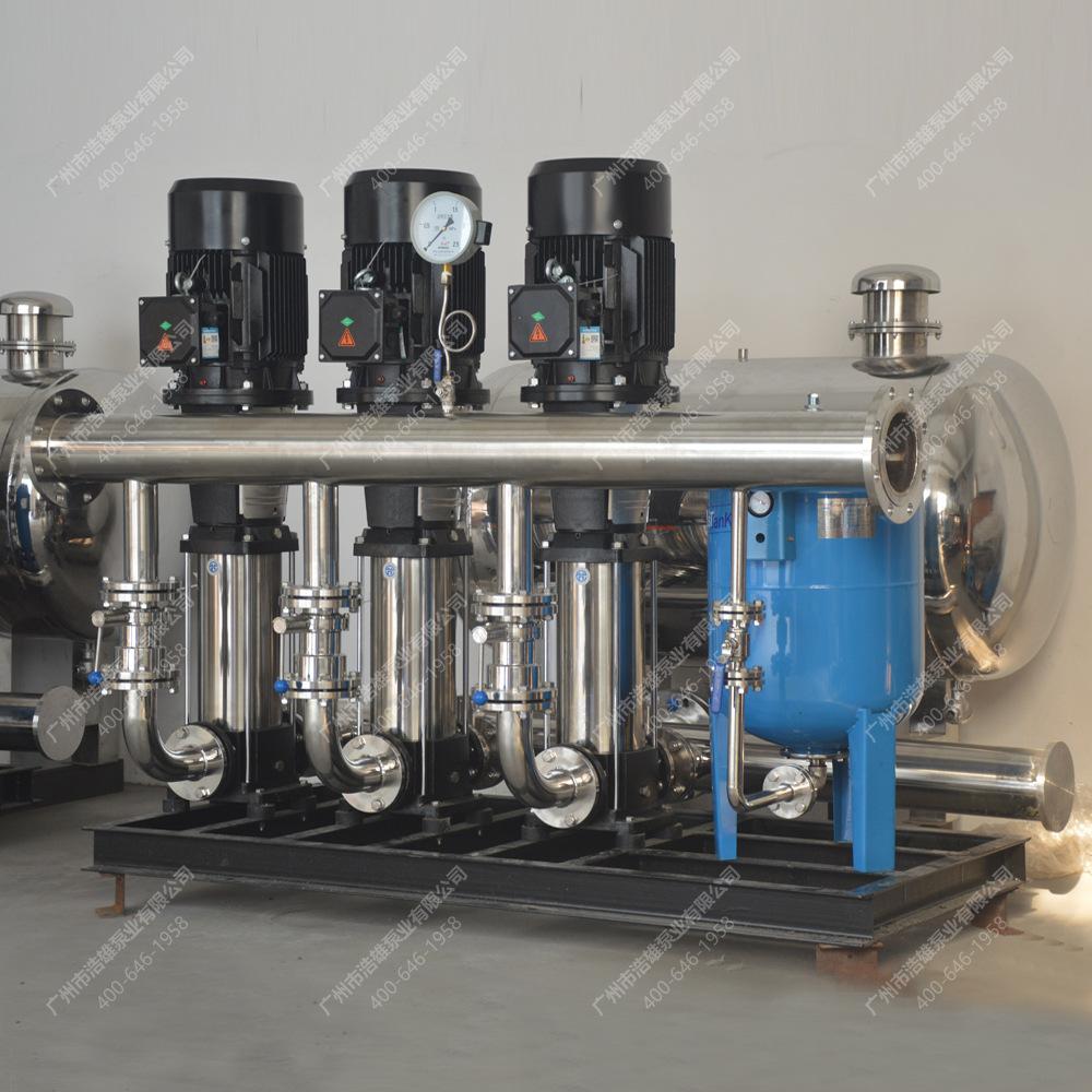 管网叠压无塔供水设施 无负压供水设备 DWS 自动/手动