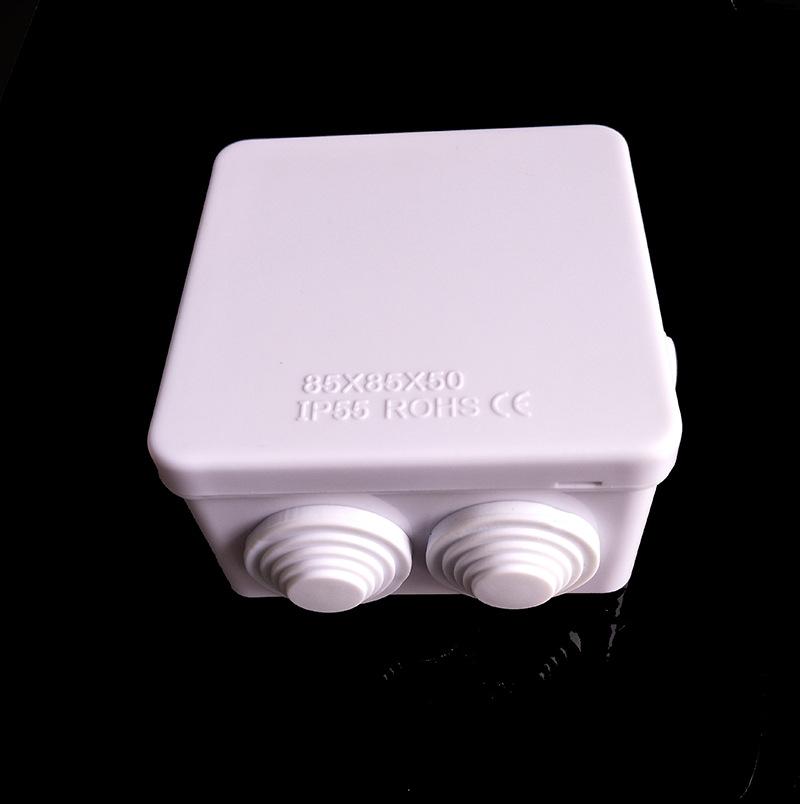 供应ABS防水接线盒85x85x50mm 电线分线盒分线盒防水电话分线盒