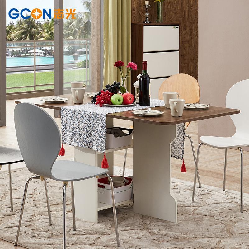 折叠餐桌椅家具多功能沙发小户型家用长方形靠边站桌子 厂家直销 GCON志光