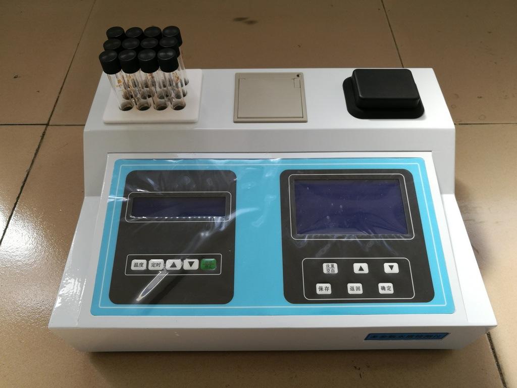 新款JC-203型内置消解仪多参数水质检测仪