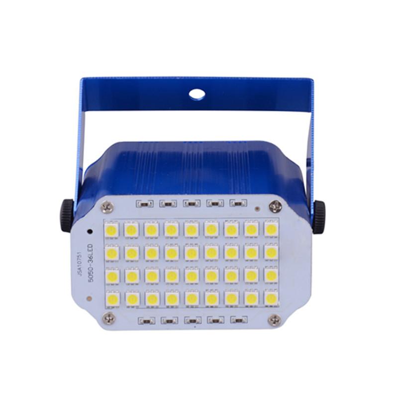 36颗LED频闪灯声控爆闪灯ktv迷你舞台灯具酒吧包房外贸厂家直销