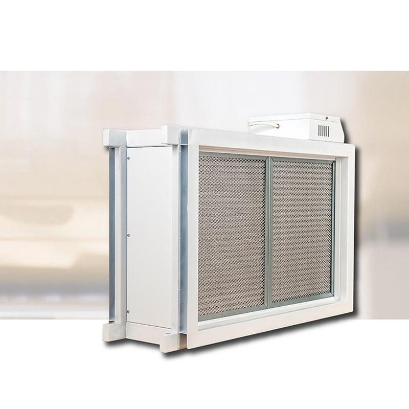 中央空调管道式空气净化机风管电子除尘器高铁项目通风净化装置 利安达