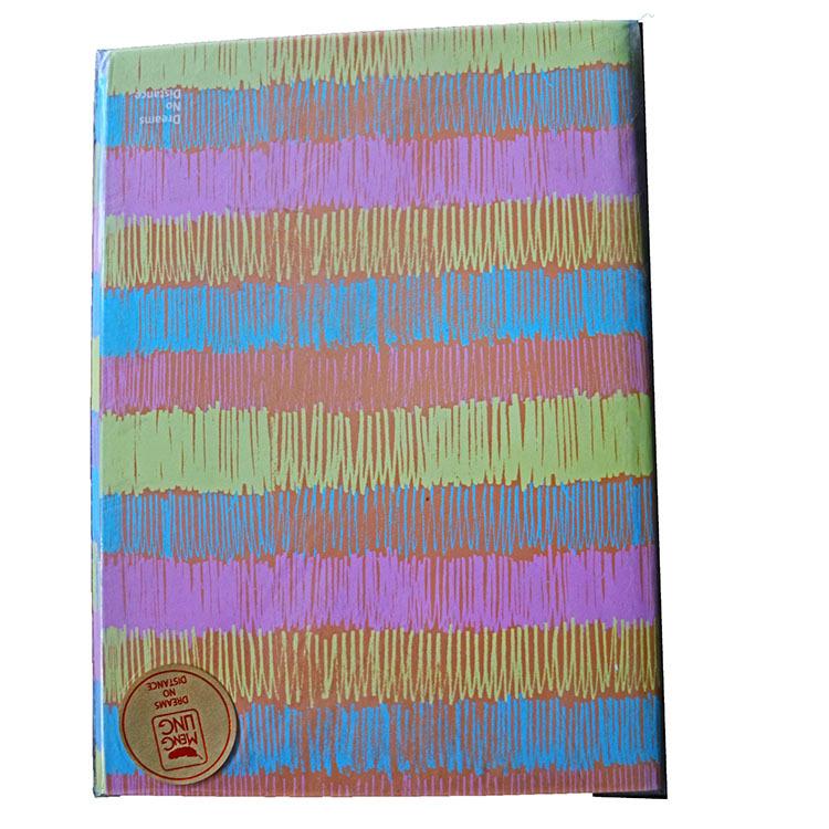 16开线装骑马订笔记本内页40张 梦翎文化 封面颜色随机