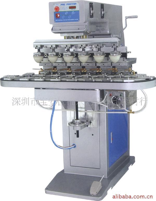 供给内存卡六色运输带移印机 运输带移印机 任何材质